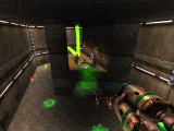 High view of combat showing monsters emerging from the monster generator